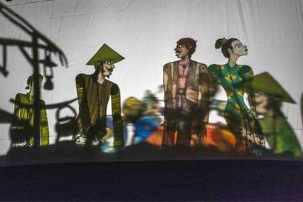 "Estetika Kreatif Budi Ros dalam ""Kampung Beringin"""